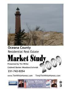Tim White 2009 Oceana County Market Study Cover