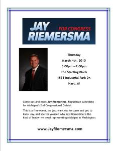 Tim White hosts Jay Riemersma Meet & Greet